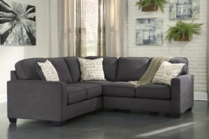 2 Piece Sectional sofa Fancy Alenya Charcoal 2 Piece Sectional sofa for Furnitureusa Image