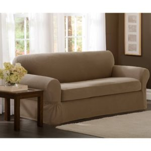 2 Piece sofa Covers Elegant sofa Sure Fit Stretch Suede 3 Piece sofa Slipcover Stretch Pique Wallpaper