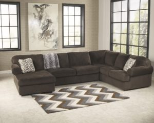 3 Piece Sectional sofa Stylish Jessa Place Chocolate 3 Piece Sectional sofa for Decoration