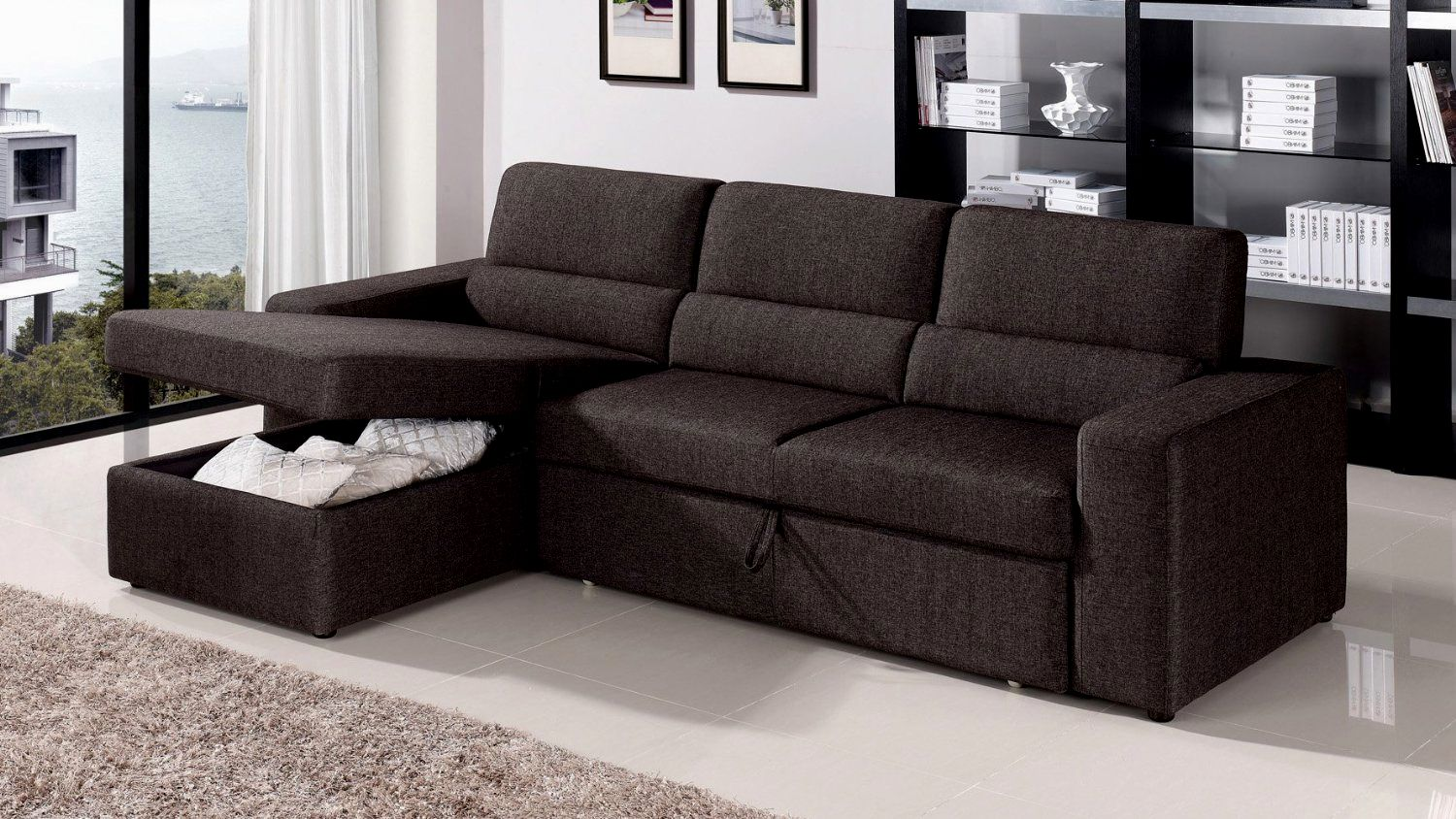 amazing sleeper sofa with chaise gallery-Fancy Sleeper sofa with Chaise Layout