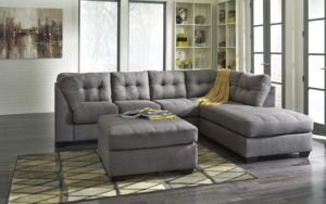 Ashley Furniture Gray sofa Stunning Yvette sofa ashley Furniture Homestore Sweetlooking Gray Architecture