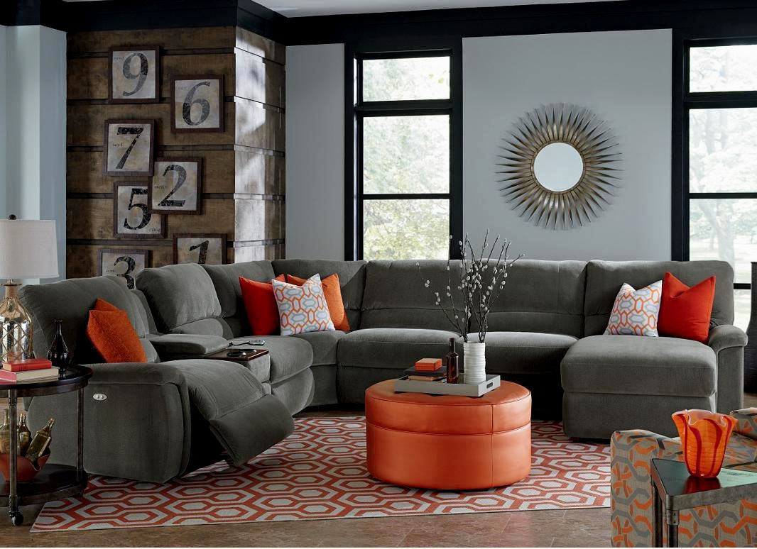 awesome reclining sectional sofa design-Terrific Reclining Sectional sofa Picture