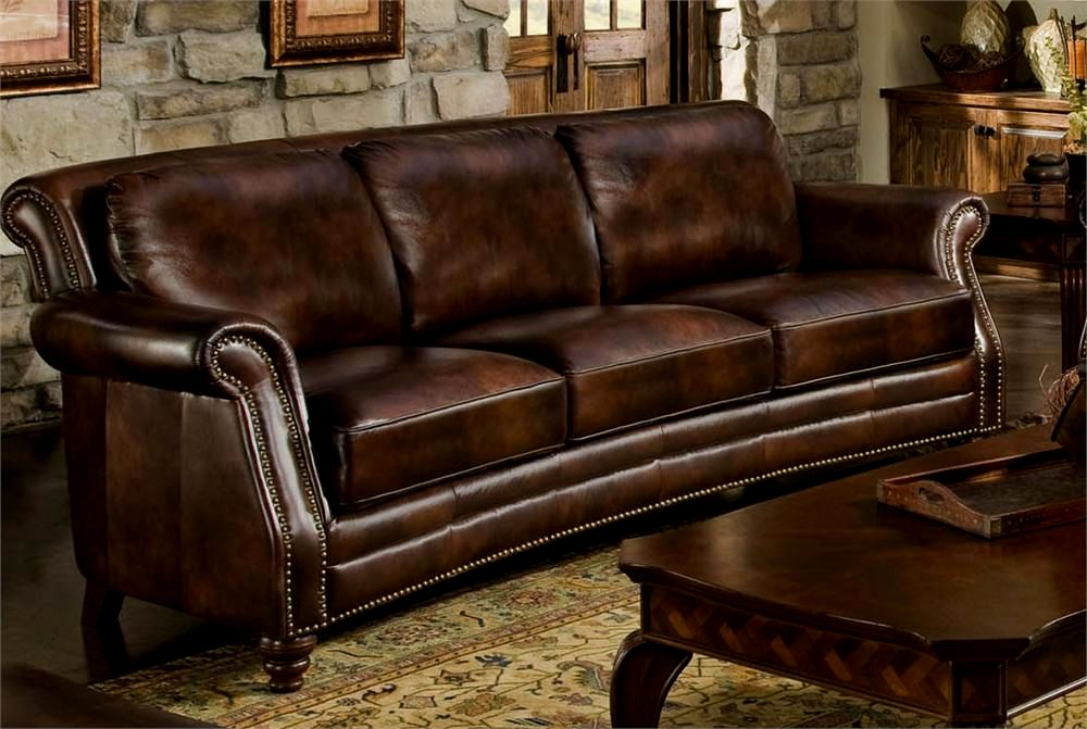 beautiful leather sofa with nailheads photograph-Stunning Leather sofa with Nailheads Décor