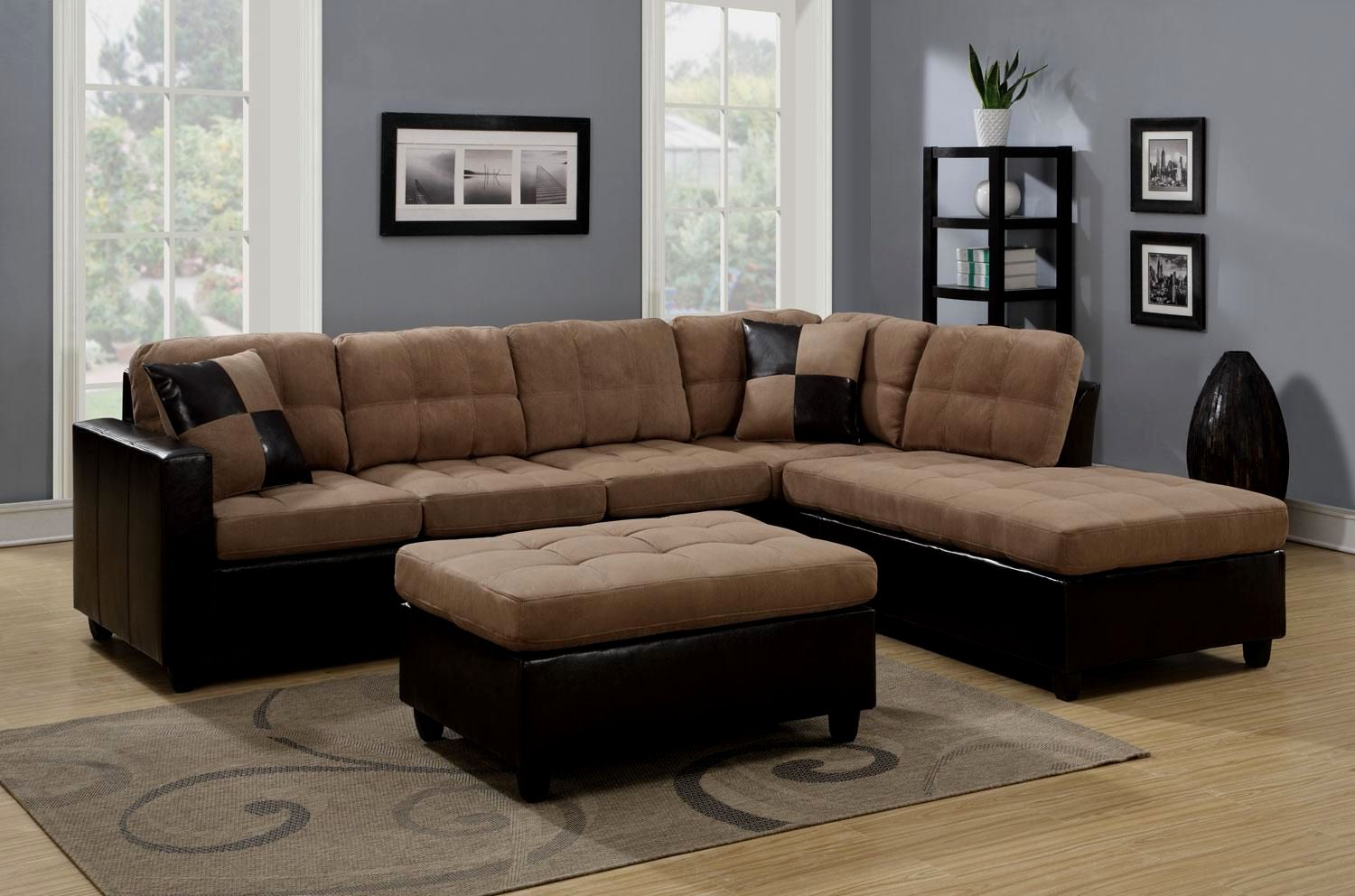 best of microfiber sectional sofa construction-Elegant Microfiber Sectional sofa Photo