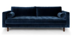 Blue Velvet sofa Inspirational Sven Pacific Blue sofa sofas Article Gallery
