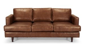 Brown Leather sofa Lovely Irvine 3 Seater sofa Pecan Brown Premium Leather Gallery