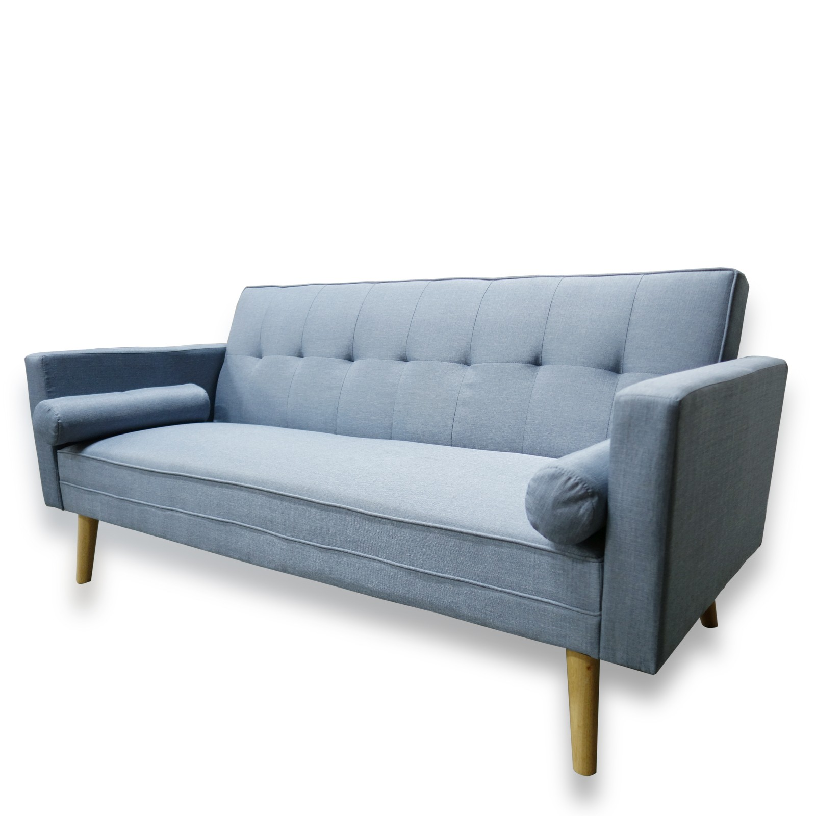 Click Clack sofa Sensational Amy Contemporary Scandinavian Fabric Clack 3 Seater sofa Bed Collection