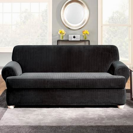 contemporary t-cushion sofa slipcover construction-Finest T-cushion sofa Slipcover Decoration