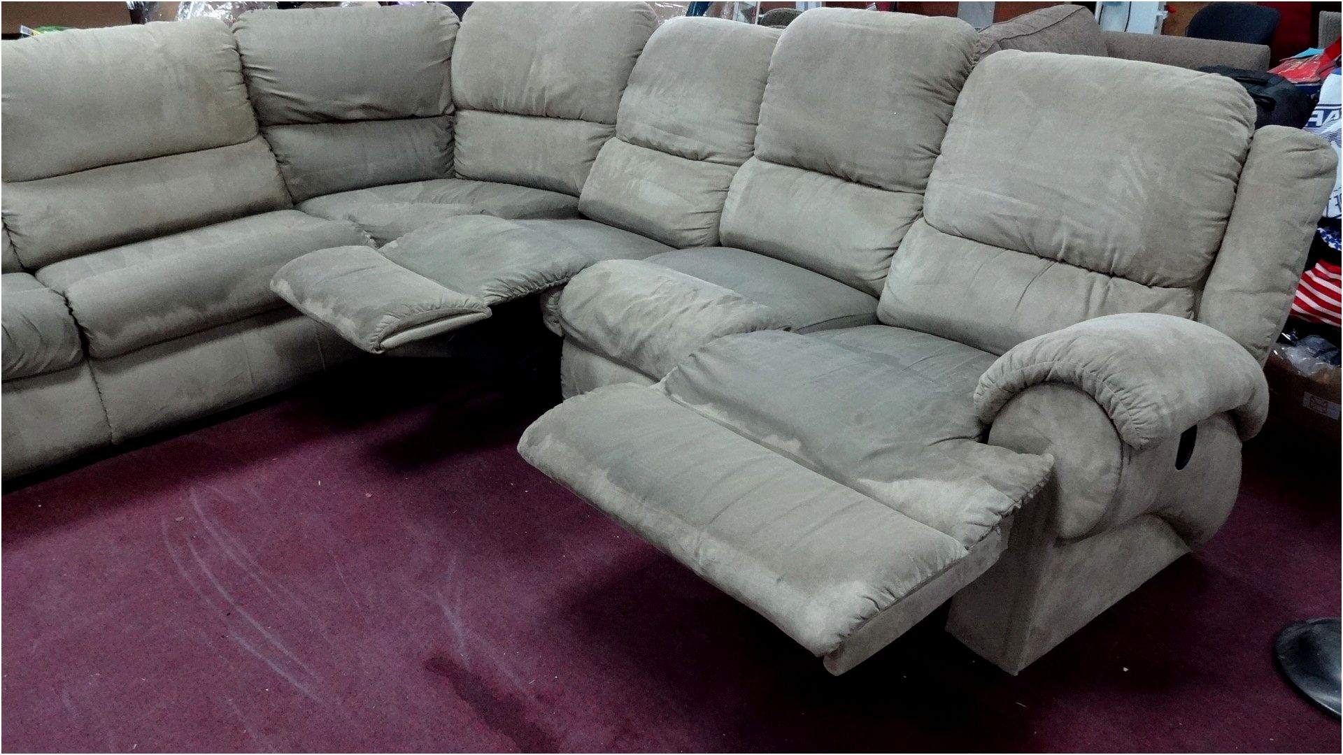 cool reclining sectional sofa photograph-Terrific Reclining Sectional sofa Picture