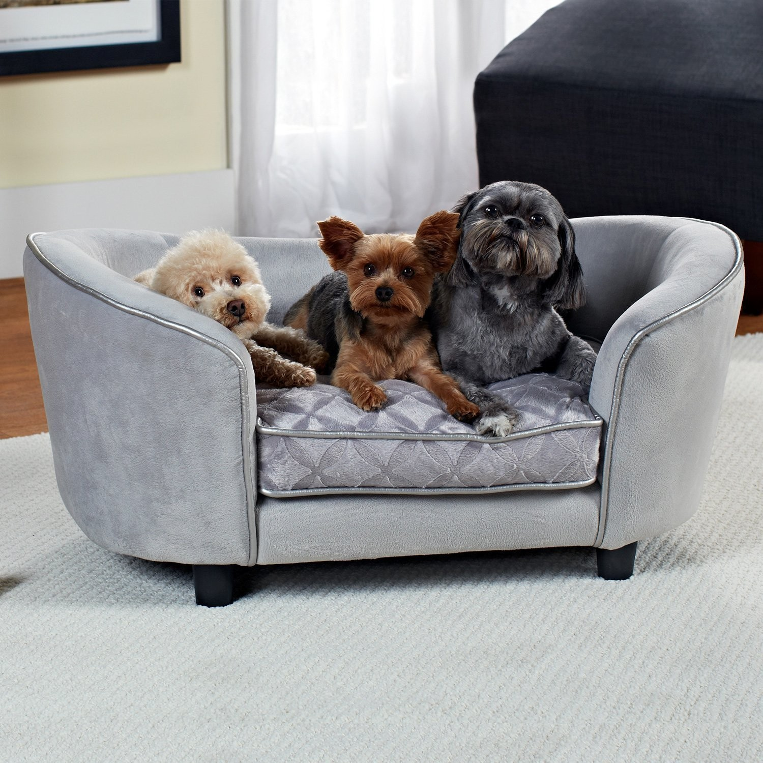 Dog sofa Bed New Amazon Enchanted Home Pet Quicksilver Pet sofa Bed by 3 Portrait
