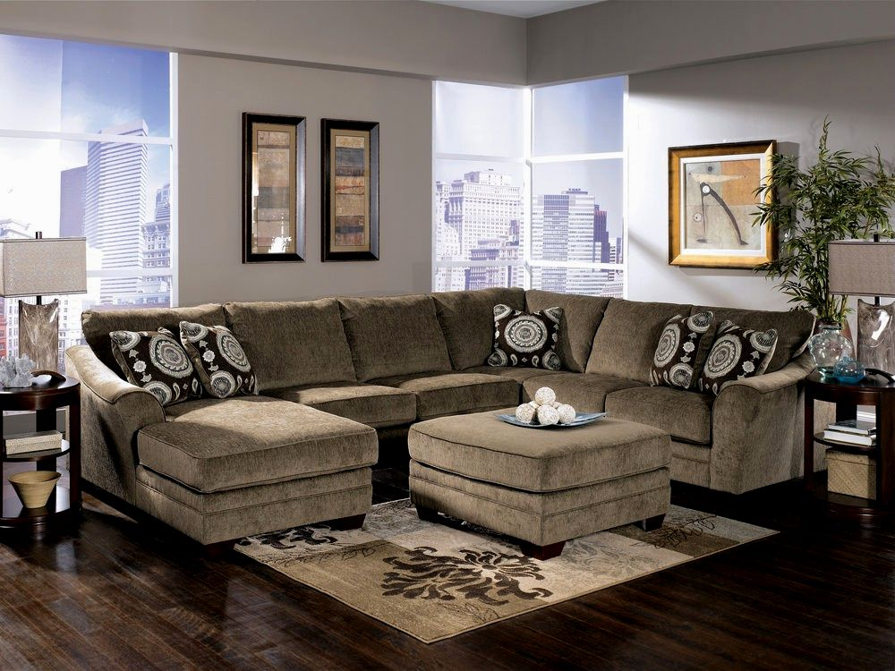elegant red sectional sofa photo-Stylish Red Sectional sofa Architecture