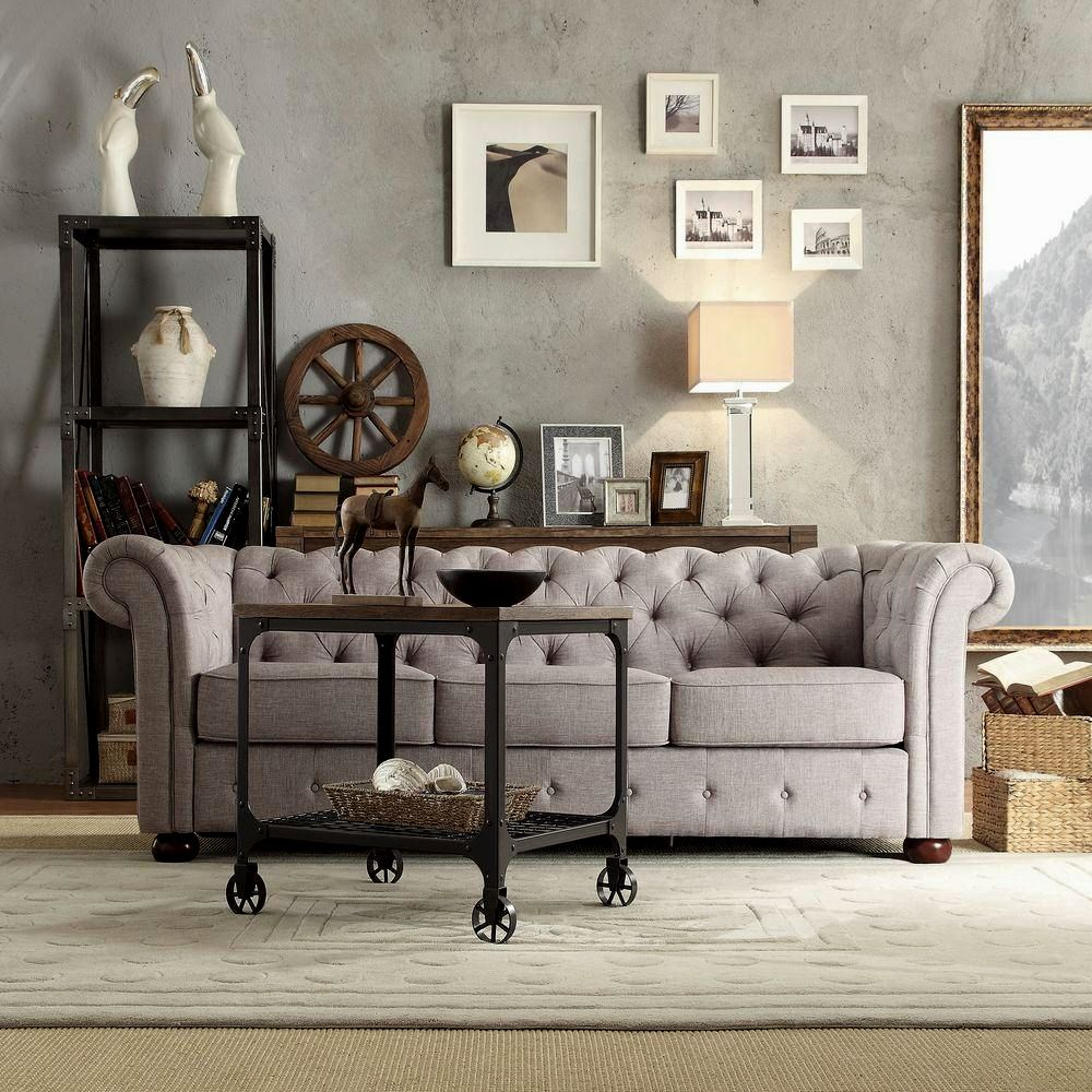 elegant tufted chesterfield sofa model-Cute Tufted Chesterfield sofa Collection
