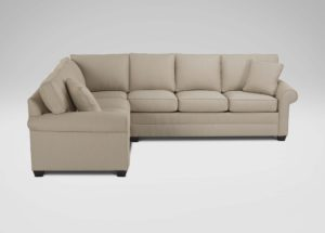 Ethan Allen Sectional sofas Elegant Bennett Roll Arm Sectional Online
