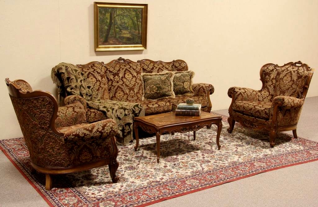excellent antique sofa set gallery-Incredible Antique sofa Set Décor
