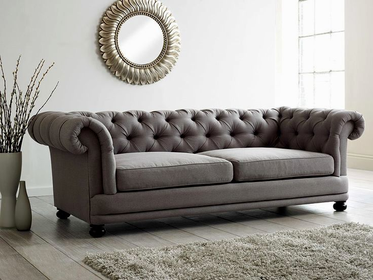 excellent gray chesterfield sofa plan-Luxury Gray Chesterfield sofa Portrait