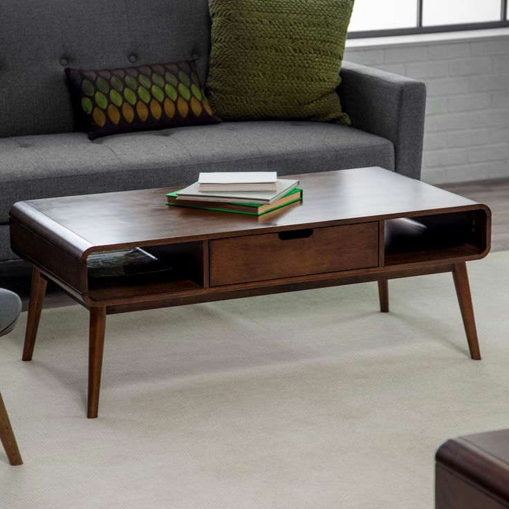 excellent mid century modern sofa table pattern-Elegant Mid Century Modern sofa Table Image