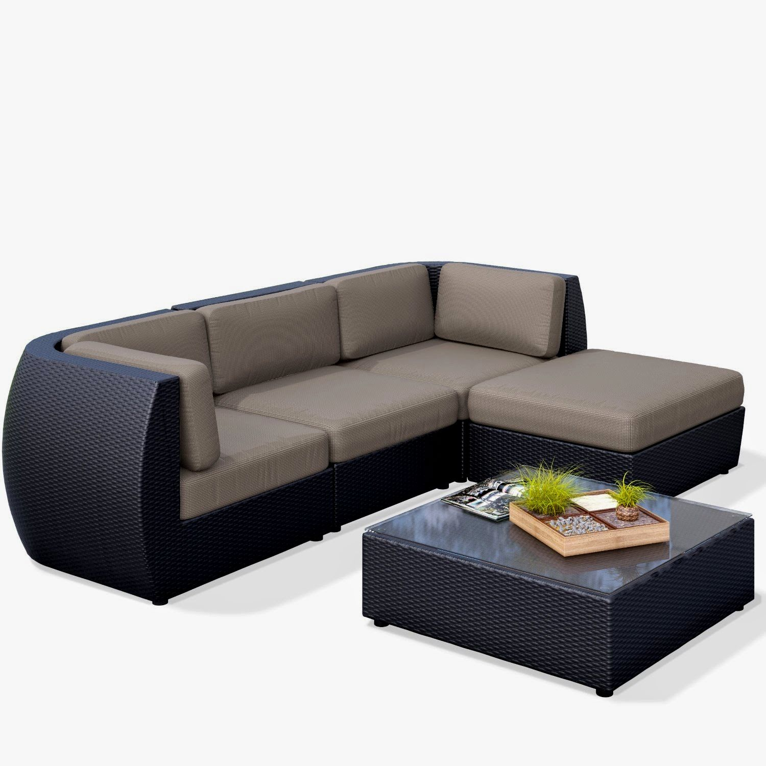 excellent outdoor sectional sofa image-Stylish Outdoor Sectional sofa Design