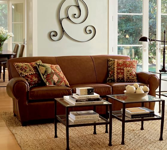 excellent pottery barn leather sofa photo-Finest Pottery Barn Leather sofa Concept