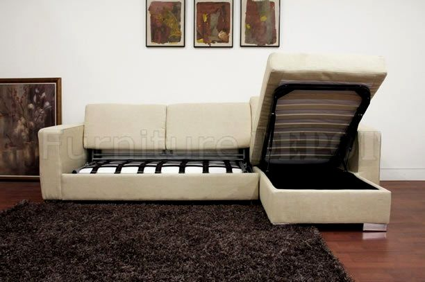 excellent sectional sofa with sleeper picture-Modern Sectional sofa with Sleeper Concept