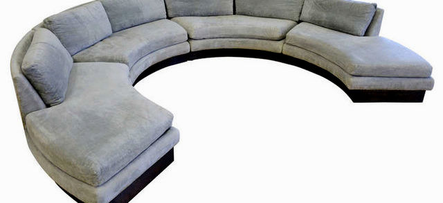 fancy circle sectional sofa design-Fascinating Circle Sectional sofa Image