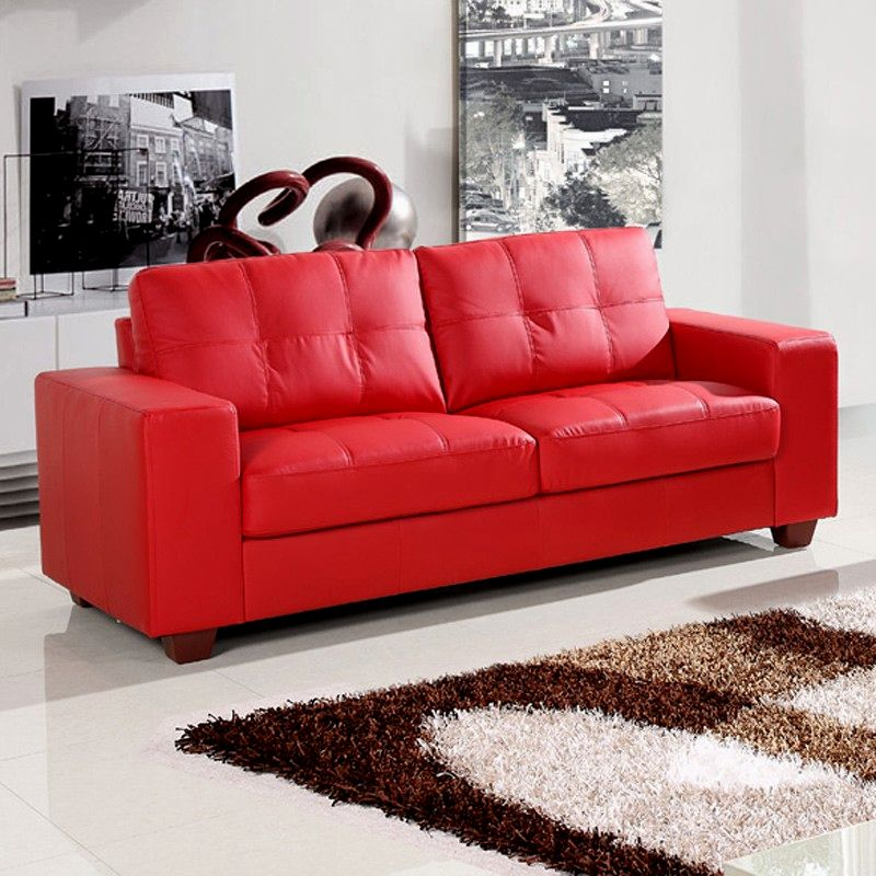 fantastic faux leather sofa photo-Stunning Faux Leather sofa Model