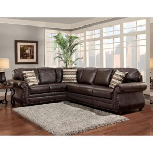 Faux Leather Sectional sofa top sofa Trendz Bindy Saddle Faux Leather Sectional Picture