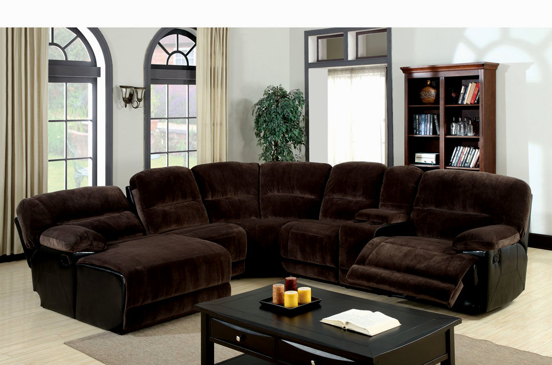 finest reclining sectional sofa portrait-Terrific Reclining Sectional sofa Picture