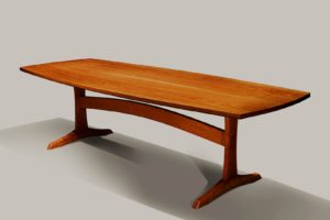 fresh cherry wood sofa table image-Wonderful Cherry Wood sofa Table Concept