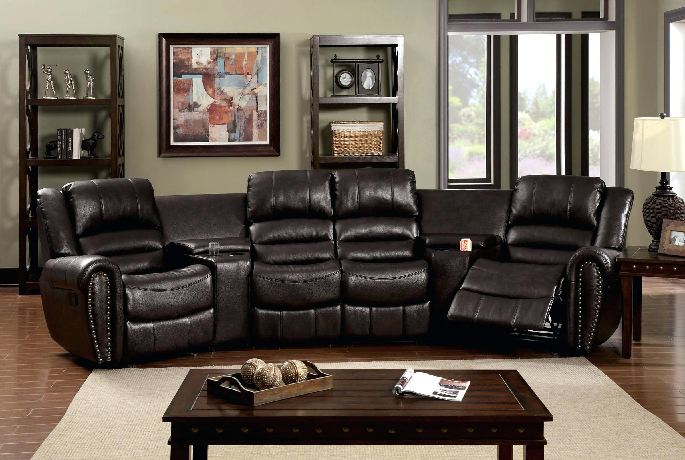 Home Theatre Style Sectional Sofa With Pull Out Bed Archives Rh Payton Construction Com