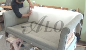 How to Reupholster A sofa Lovely Diy How to Reupholster A Couch with Roll Arms Alo Upholstery Model