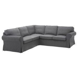 Ikea Sectional sofa Contemporary Ektorp Sectional 4 Seat Corner nordvalla Dark Gray Ikea Online