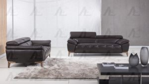 Italian Leather sofa Set Incredible Dark Chocolate Italian Leather sofa Set Decoration