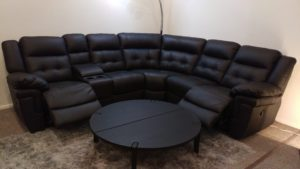 La Z Boy sofa Fantastic La Z Boy Nashville Black Leather Power Reclining Corner sofa Architecture