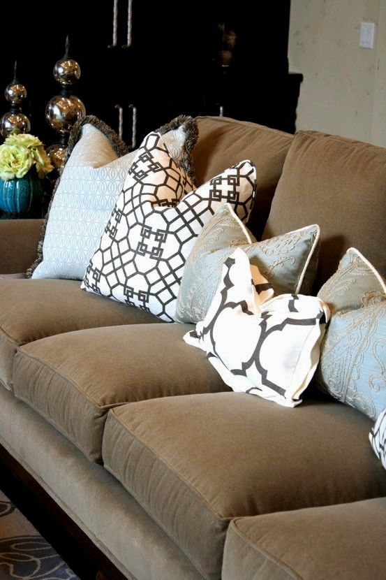 latest accent pillows for sofa décor-Contemporary Accent Pillows for sofa Layout
