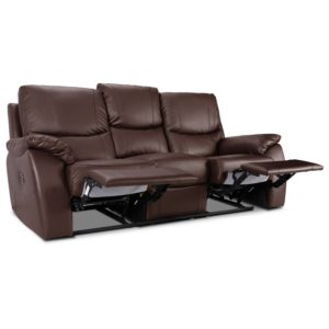 Leather Recliner sofa Superb Panther 3 Seater Leather Recliner sofa Next Day Delivery Panther Inspiration