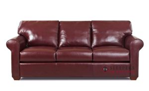 Leather Sleeper sofa Superb Customize and Personalize Cancun Queen Leather sofa by Savvy Model
