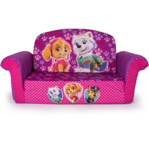 Marshmallow Flip Open sofa Unique Marshmallow 2 In 1 Flip Open sofa Paw Patrol Pink Edition Pattern
