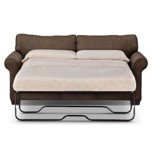 Memory Foam Sleeper sofa Fancy Fletcher Full Memory Foam Sleeper sofa Chocolate Construction