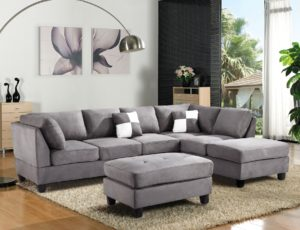 Microfiber Sectional sofa Stunning Gl Rf Sectional sofa Gb Glory Furniture Sectional sofas at Décor
