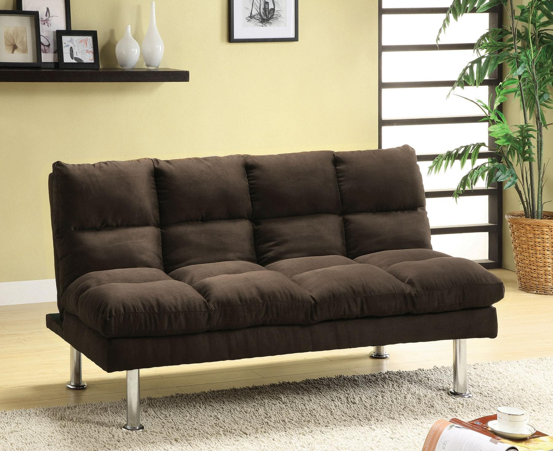 Microfiber sofa Bed Awesome Espresso Microfiber sofa Bed Image