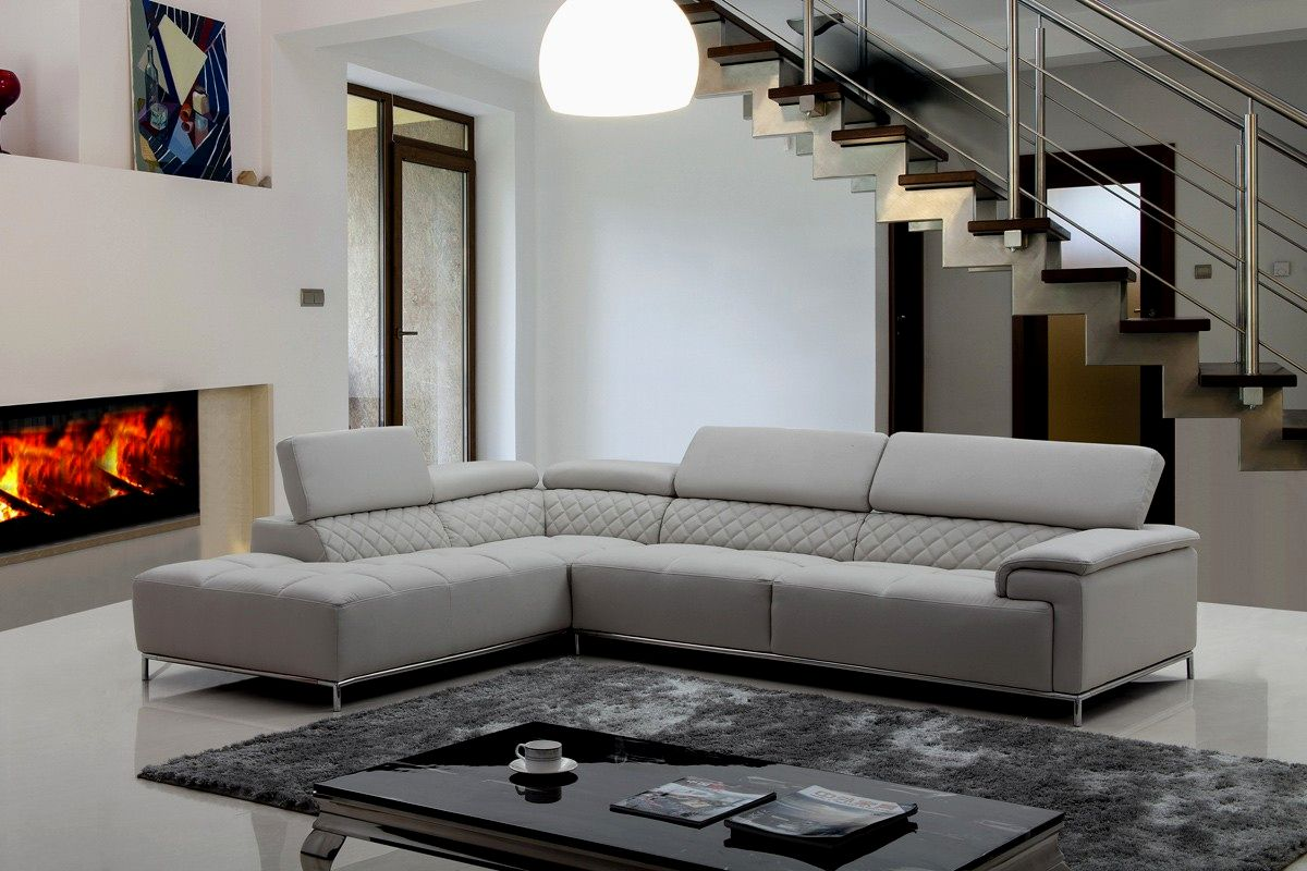 modern light gray leather sofa decoration-Inspirational Light Gray Leather sofa Picture