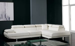 Modern Sectional sofas Stylish T Ultra Modern White Leather Sectional sofa Image