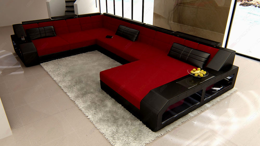 modern u shaped sofa image-Modern U Shaped sofa Photo