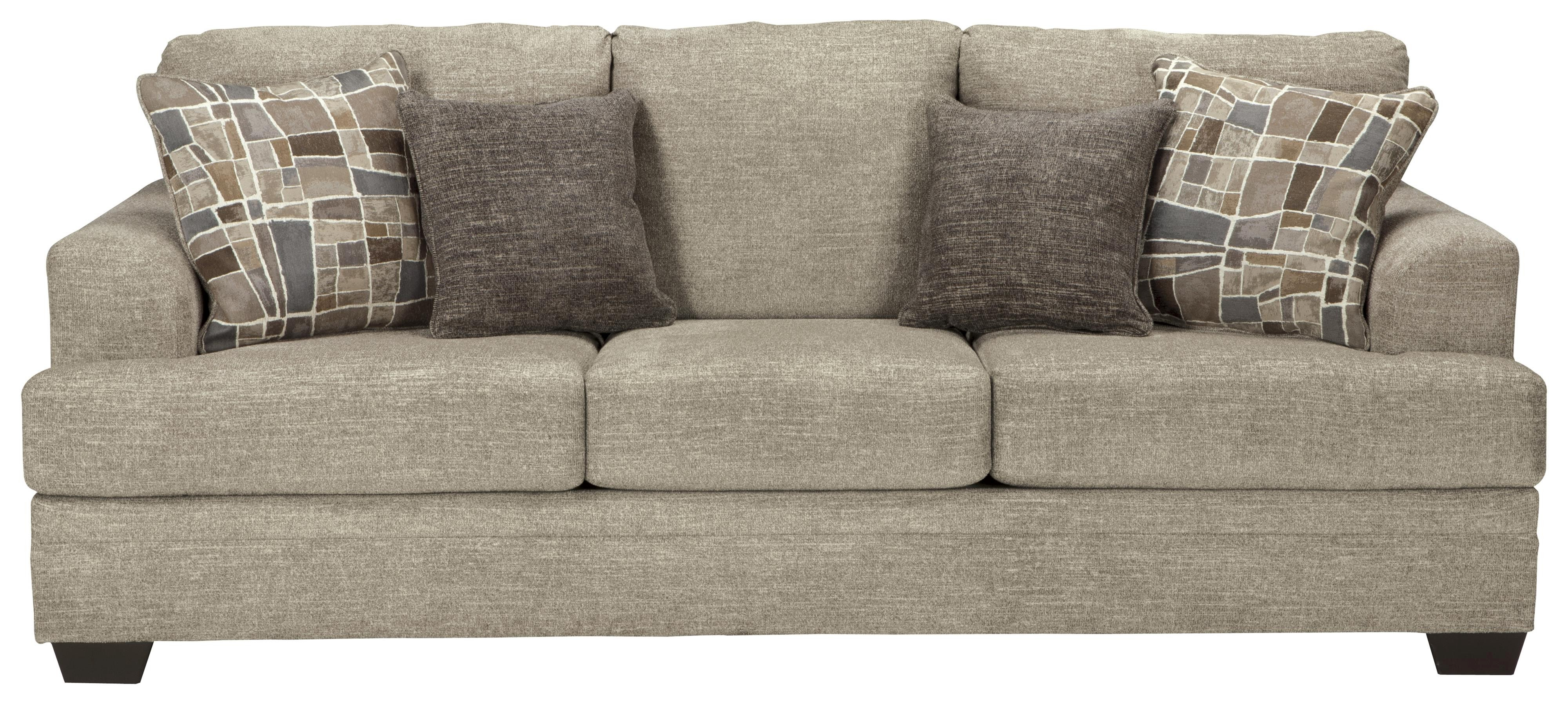 Queen sofa Bed Lovely Benchcraft Barrish Contemporary Queen sofa Sleeper with Flared Portrait