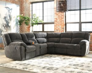 Reclining Sectional sofas Elegant Benchcraft Timpson Reclining Sectional with Storage Console Decoration
