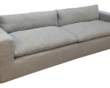 Restoration Hardware sofa Stylish Reupholstered Restoration Hardware Petite Cloud Track Arm sofa Image