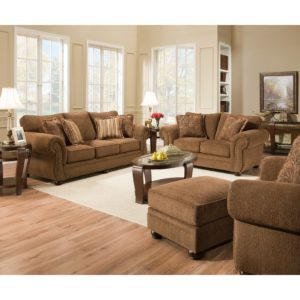Simmons sofa and Loveseat Finest Simmons Upholstery Outback Chocolate Seating Concept