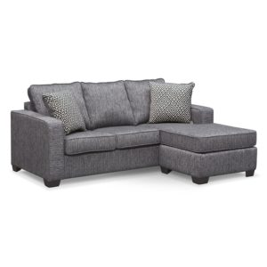 Sleeper sofa with Chaise Stylish Sleeper sofas Value City Furniture Photograph