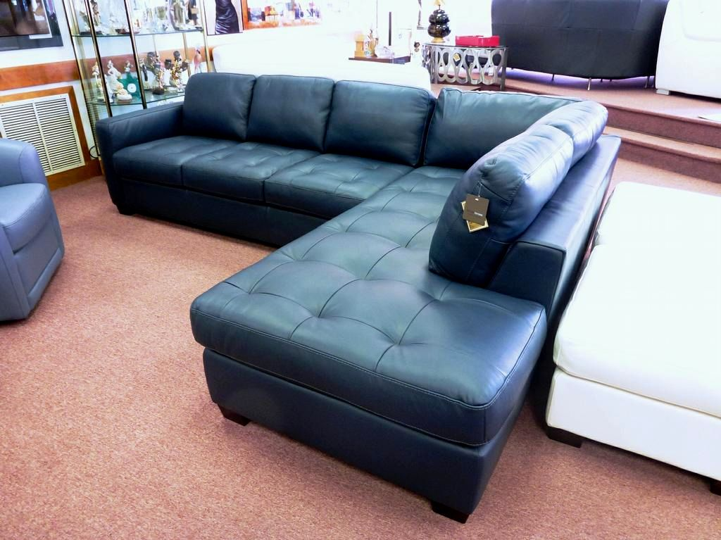 stunning faux leather sectional sofa image-Modern Faux Leather Sectional sofa Architecture