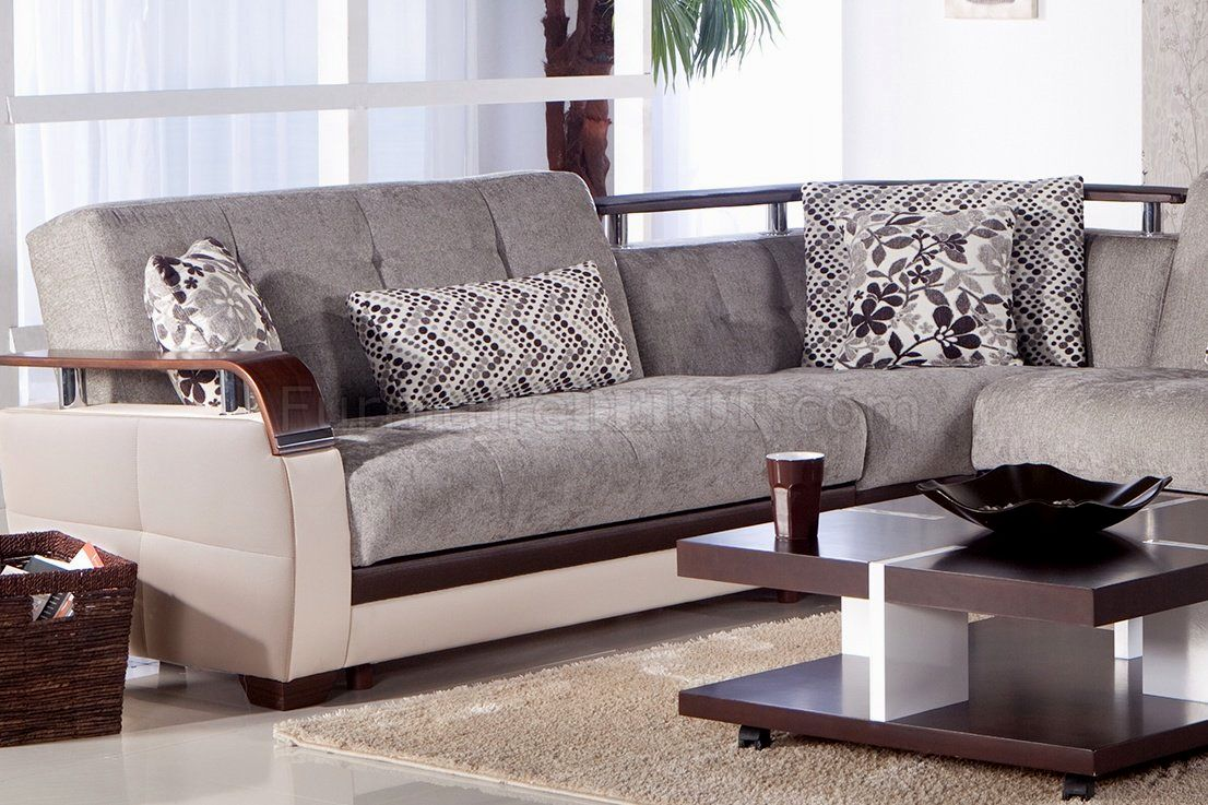 stunning grey sectional sofa portrait-Elegant Grey Sectional sofa Design